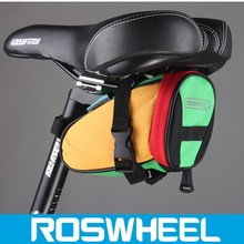 Wholesale hot sale color waterproof mountain road bicycle tail bag bike bicycle saddle bag 13656 travel bike bag