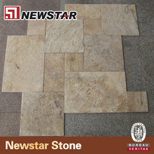 Tumbled travertine marble and travertine tile price