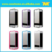 transparent touch screen flip tpu+pc case covers for iphone 6
