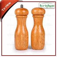 Home bamboo pepper grinders