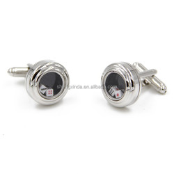 2015 new High-end dice wholesale metal cufflink with factory price
