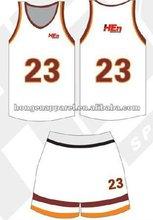 latest basketball jersey 2012,polyester basketball suit
