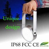 IP68 waterproof rechargeable magnesium 80 hours duration time led camping light