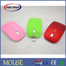 2.4g wireless flat optical mouse