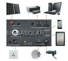 elegant Solar dynamo generator system for emergency use- Model: MS-1000PSS with CE certification
