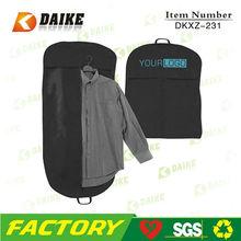 Foldable custom wedding dress suit cover, garment bag