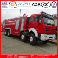 Popular NISSAN or HINO water and foam fire fighting truck