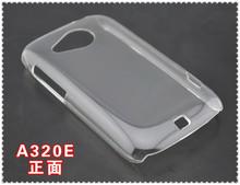 de alta calidad 2014 venta caliente de cristal transparente claro duro caso para htc evo 3d g17 volver duro caso cubrir la piel