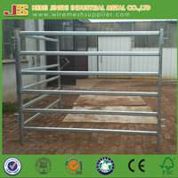 made in China Heavy duty steel rail livestock panel fence