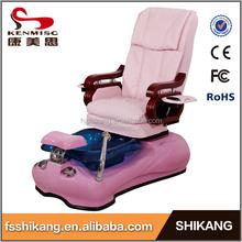 Pink manicure spa pedicure chair of nail salon furniture
