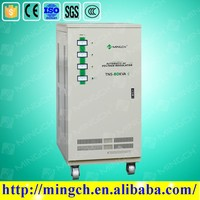 CE ROHS approved 90KVA 100 KVA automatic three phase 3kva-100kva automatic voltage regulator
