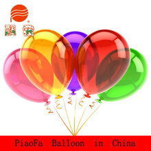 2015 transparent ballloons latex balloon in various colors
