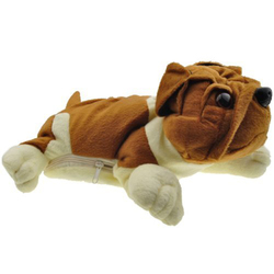 Promotional New Style Soft Plush Dog CD Bag