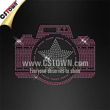 Nailhead camera clothing hotfix motifs designs