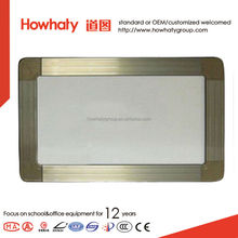 magnetic dry wipe whiteboard for teaching or office use