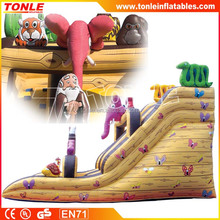 Commercial Noah's Ark Inflatable Slide/ Inflatable Animal Slide/ Inflatable Bouncy Slide For Sale