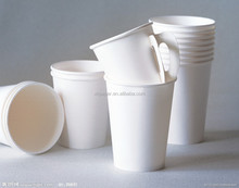 7OZ / 8OZ DISPOSABLE COFFEE TEA PAPER CUP WITH HANDLE