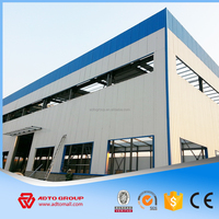 ISO SGS CE BV Steel structure warehouse,construction design steel structure warehouse,Prefabricated light Steel Warehouse