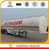 2015 China manufacture 3 axles 45000L oil fuel tank trailer for Malawi