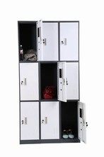 new design cheap metal wardrobe closet/cabinet manufacturer in China
