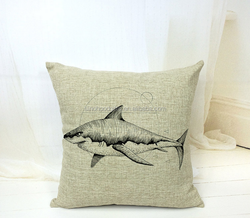 2015 China factory supplies alibaba selling well fashion high quality 100% cotton fish Pillow Case Cover