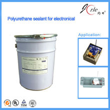 Addition cure two component polyurethane potting compound