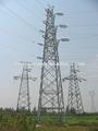 la transmisión eléctrica la torre de polo