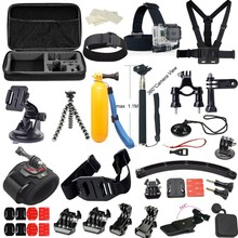 Go pro accessories kits, Accessories Set Go pro Kit Mount/ Monopod/ Bag/Chest Strap for Go pro Hero3 3+ 4/SJ4000