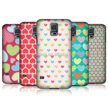 Top Quality Fancy Cell Phone Cover Case For Samsung Galaxy S5 With Heart-shape