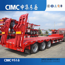 CIMC Low Bed Heavy Haulage, Low Flat Top Semi Trailers on Sale