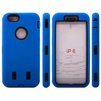 For Apple iPhone 6 High Quality Hybrid Combo Shockproof Robot Case