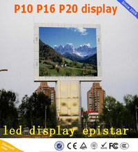 video outdoor full color p20 p10 led soccer display / High Precision P20 RGB board Outdoor Full Color LED video displays