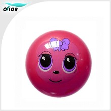 Red 7P free toy PVC balls , PVC bouncing balls ,PVC toy balls