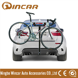 Rear mounted 2 bicycle Carrier,rear bike rack,trunk bike rack