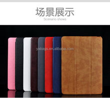 Contemporary crazy selling folio for ipad 2 leather case