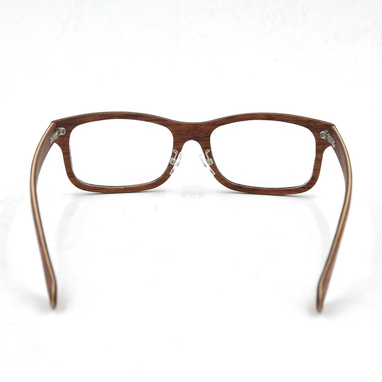 Customized Thin Frame Optical Glasses,Layered Wooden ...