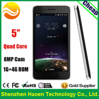 Cheap mobile phone!! Wholesale! 5 inch Cheapest Quad Core Phones MTK 6582 Dual SIM Android China Smart Phone