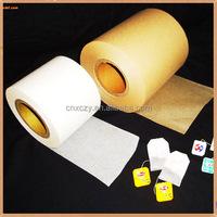 natural color tea filter paper rolls