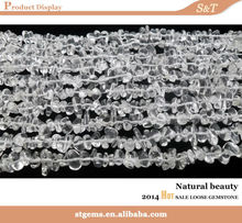 claro y hermoso precio de fabricante de cristal de roca papasfritas