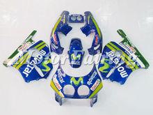 Movistar Fairing Kit for Honda CBR250RR MC22 1991-1998 CBR250RR 91 92 93 94 95 96 97 98 CBR250 Body Kits blue green cheap price
