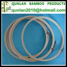8'' bambú aros para el bordado
