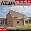 Slope roof luxury pre-made houses hot sale light steel villa