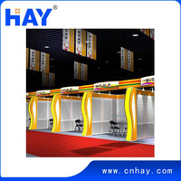 Custom china exhibition booth design from Shanghai
