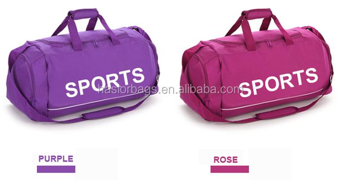 Marque design de mode pas cher petit sac de sport avec logo