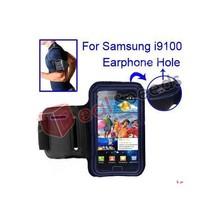 Gym Sports Running Armband Case for Samsung Galaxy S2 i9100 With Earphone Hole