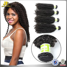 JP Hair 2015 New Arrival Mixed Lenght Natural Black Curly Wave Malaysian And Asian Hair