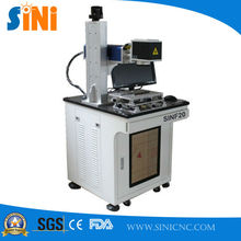 SINF20 excellent 20w fiber laser marking machine for metal material
