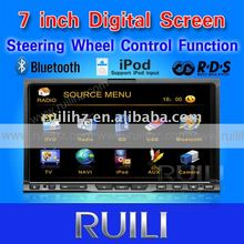 2 din 7' car DVD player with bluetooth