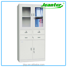 Jeanter Glass Door Stainless Steel File Cabinet Office Furniture