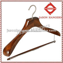 DL0917 Walnut color finish wooden antique hanger